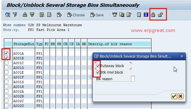 LS06 Block or Unblock Storage Bin