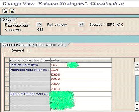 SAP Workflow of Purchase Requisition Release Strategy